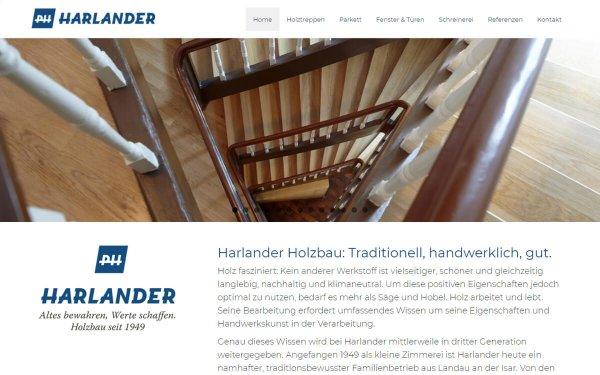 Webdesign Harlander Landau