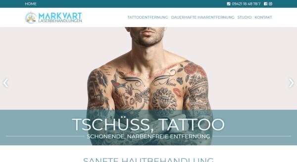 Webdesign für Laserstudio Straubing